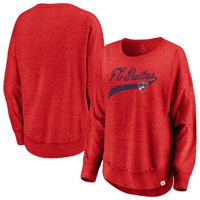 FC Dallas Fanatics Branded Women's True Classics Amaze Long Sleeve T-Shirt - Red