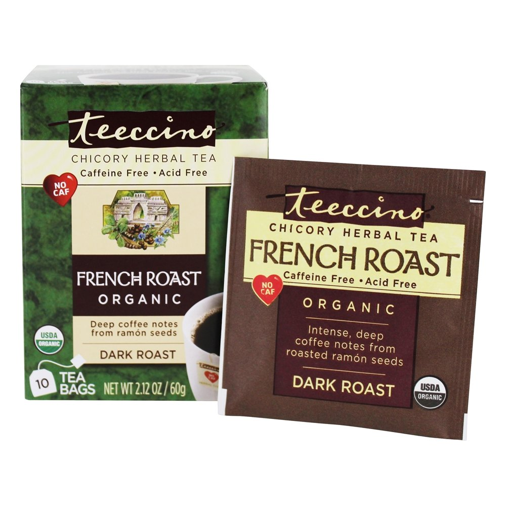French Roast Chicory Herbal Tea 10ct