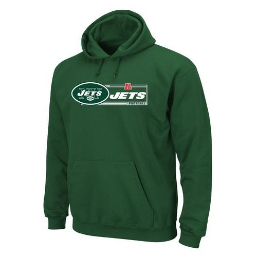New York Jets NY Men's Critical Victory Majestic Hoodie
