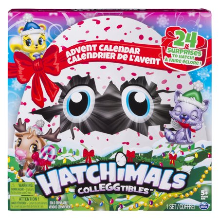 Hatchimals CollEGGtibles, Advent Calendar with Exclusive Characters and Paper Craft Accessories, for Ages 5 and Up - Advent Calendar Kids