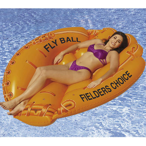 SunSplash Fielders Choice Baseball Glove Floating Lounge for Swimming Pools
