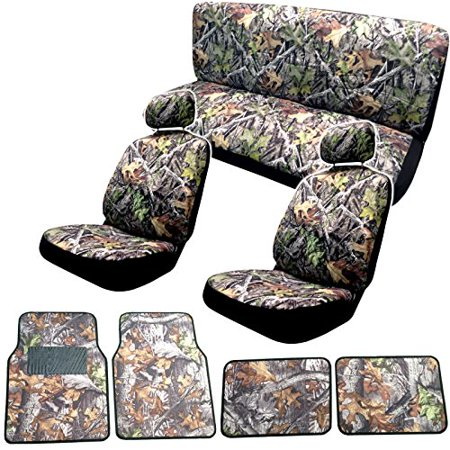 Surreal Camouflage Seat Cover Set 15pc