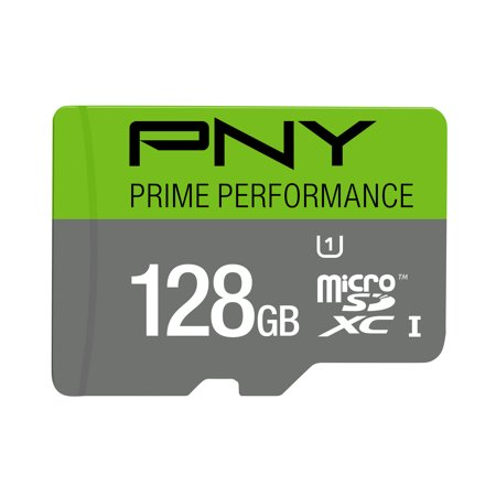 PNY 128GB Prime microSD Memory Card (Best 128gb Micro Sd Card)