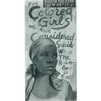 For Colored Girls Who Have Considered SuicideWhen the Rainbow is Enuf (Broadway) Movie Poster (11 x 17)