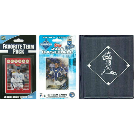 Kansas City Costume Stores (C&I Collectables MLB Kansas City Royals Licensed 2016 Topps Team Set and Favorite Player Trading Cards Plus Storage)