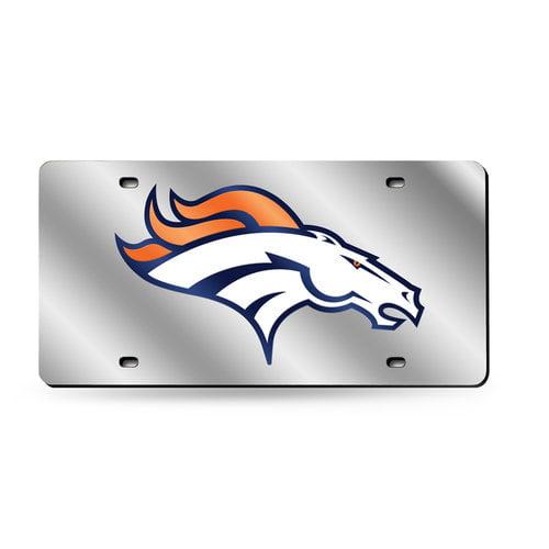 NFL Denver Broncos Laser-Cut License Plate