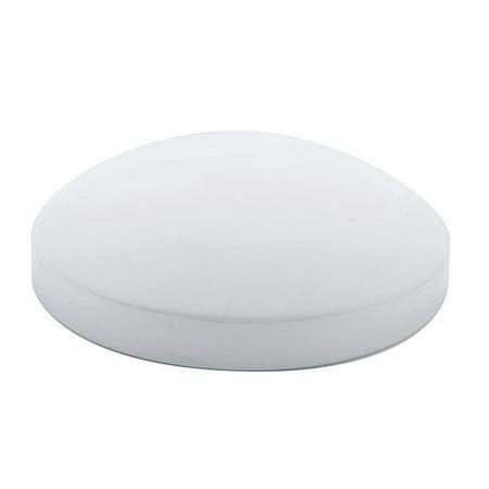 "Chrome 6 1/2"" Rear Dome Hub Cap"