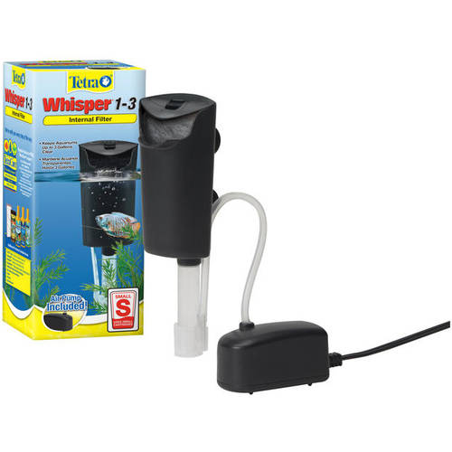 Tetra Whisper In-Tank Filter 3i for 1-3 Gallon Aquariums