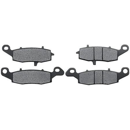 KMG Front Brake Pads for 2007-2011 Suzuki DL 650 V-Strom (ABS Model) - Non-Metallic Organic NAO Brake Pads Set - image 4 de 4
