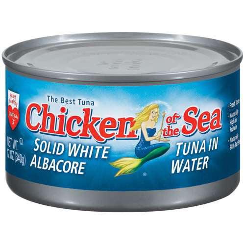 Chicken of The Sea: Solid White Albacore In Water Tuna, 12 oz