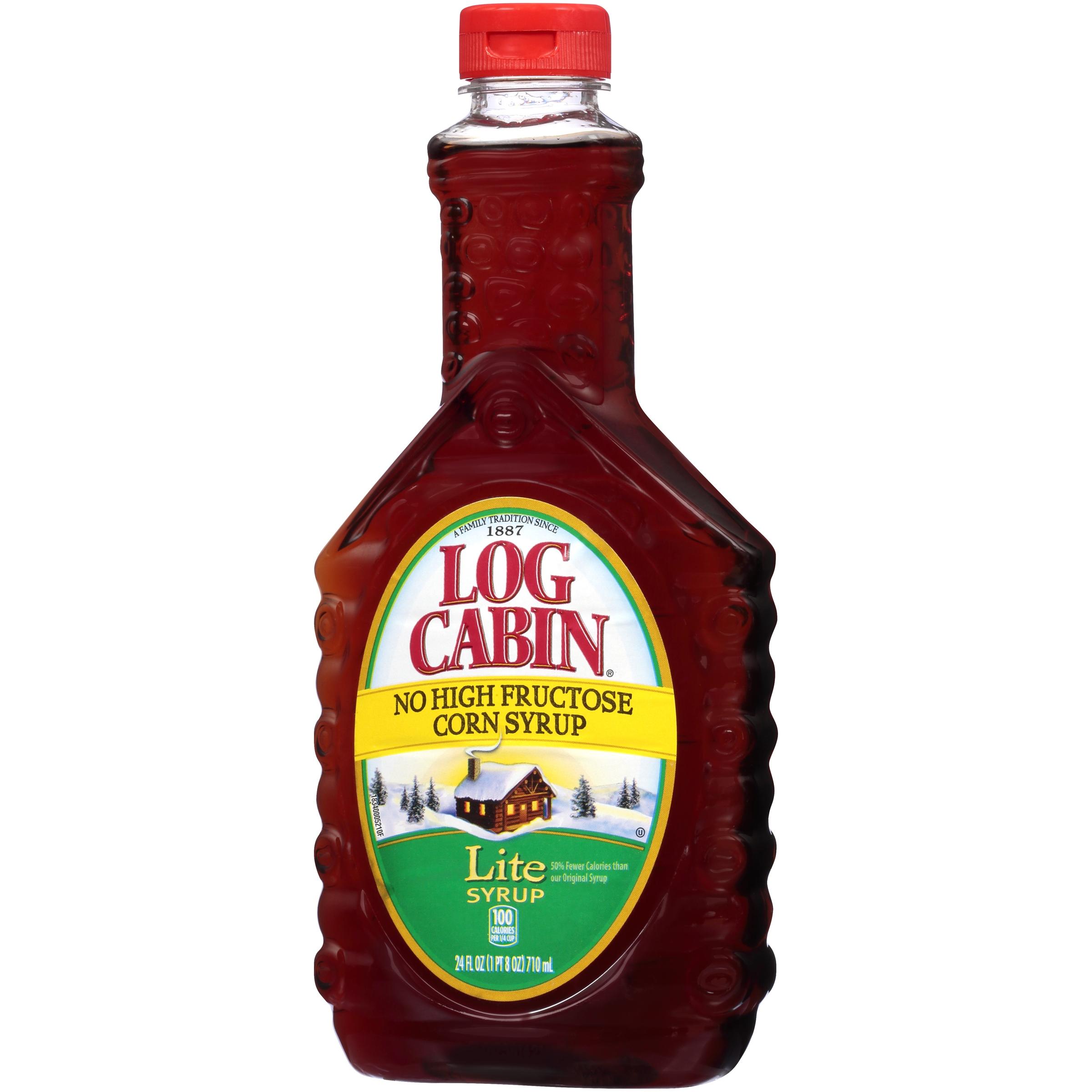 log cabina lite syrup 24 fl oz bottle walmart com