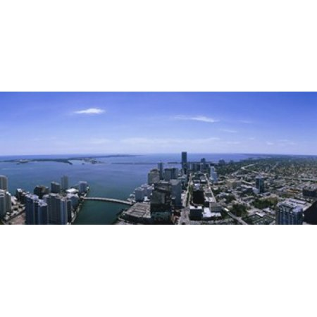 Aerial view of a city Miami Florida USA Canvas Art - Panoramic Images (15 x 6)](Party City Miami Florida)