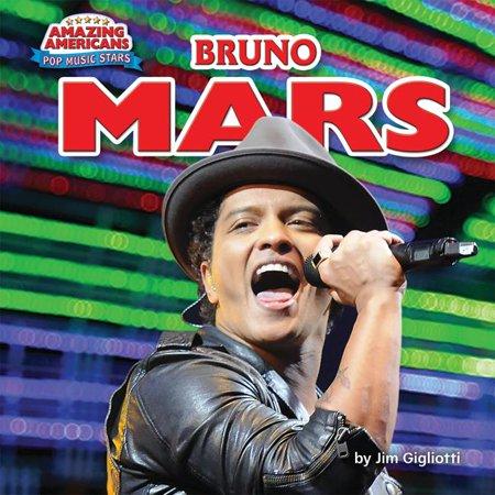 Amazing Americans  Pop Music Stars  Bruno Mars  Hardcover
