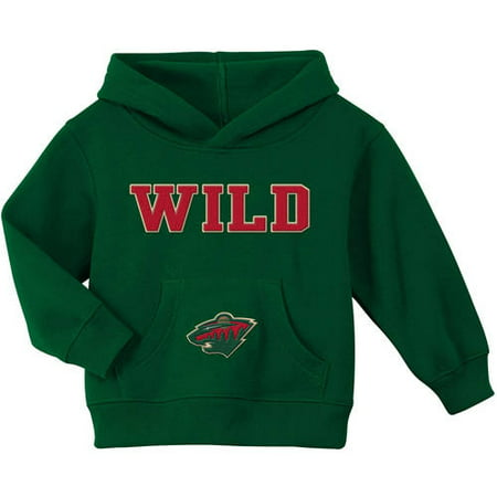902f81e7a936 Pedi Paws - NHL Minnesota Wild Toddler Team Fleece Hoodie - Walmart.com