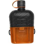 Gerber Survival / Bear Grylls Canteen Water Bottle with Cooking Cup