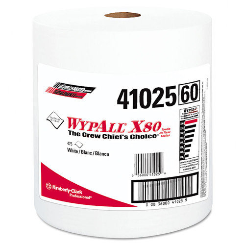 Kimberly-Clark Professional Wypall X80 Shop Towels