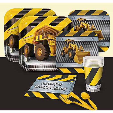 Under Construction Party Supplies (Construction Zone Party Pack)