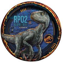 Party Supplies - Jurassic World - Small Plates - 8ct (Party World Outlet)