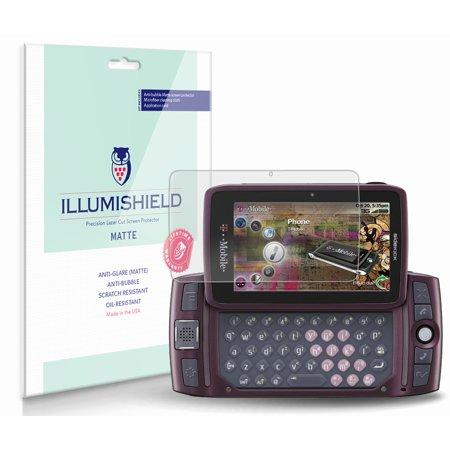 iLLumiShield Anti-Glare Screen Protector 3x for Sharp Sidekick LX 2009 ()