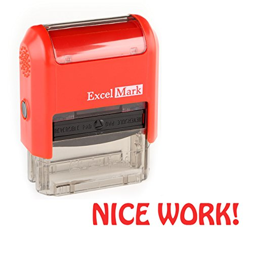 Teacher Stamps - Nice Work (55086) by DiscountRubberStamps