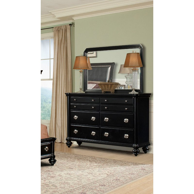 Klaussner Danbury 6 Drawer Dresser with Optional Mirror by Klaussner