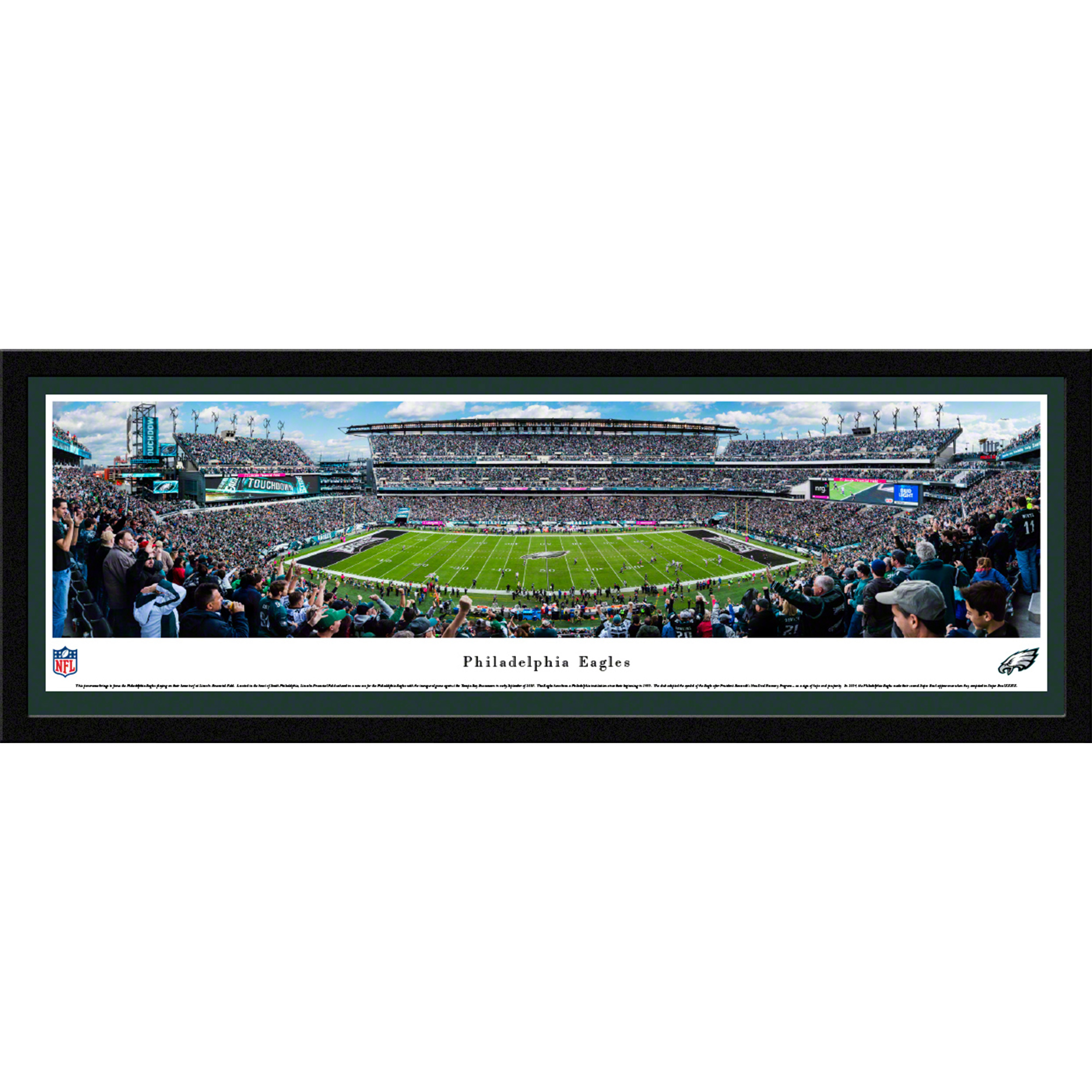 Philadelphia Eagles - 50 Yard Line - Blakeway Panoramas Prints with ...