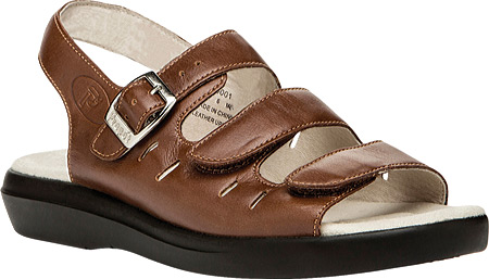 Propet Breeze Sandals Women's Teak Brown by