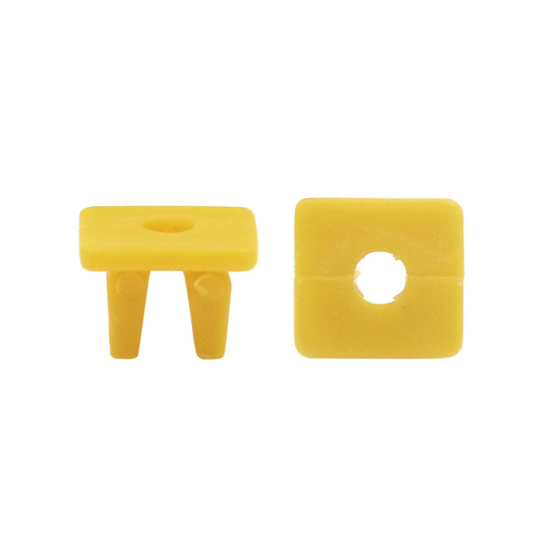 100Pcs Universal Plastic Car Door Trim Clips Bumper Fastener Retainer Bumper Clip Rivets Push Pin Clips Keenso