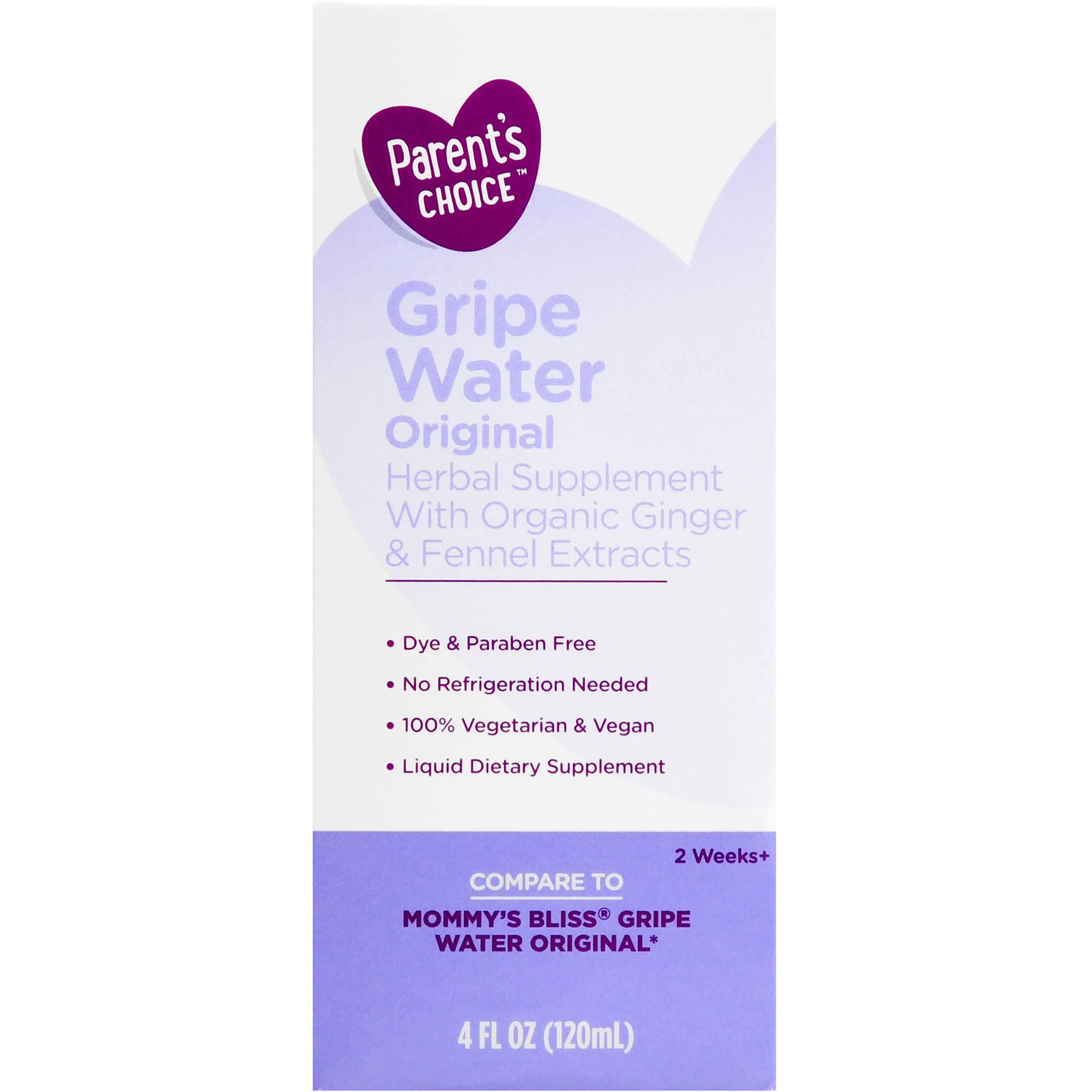 Parent's Choice Gripe Water, 4 oz
