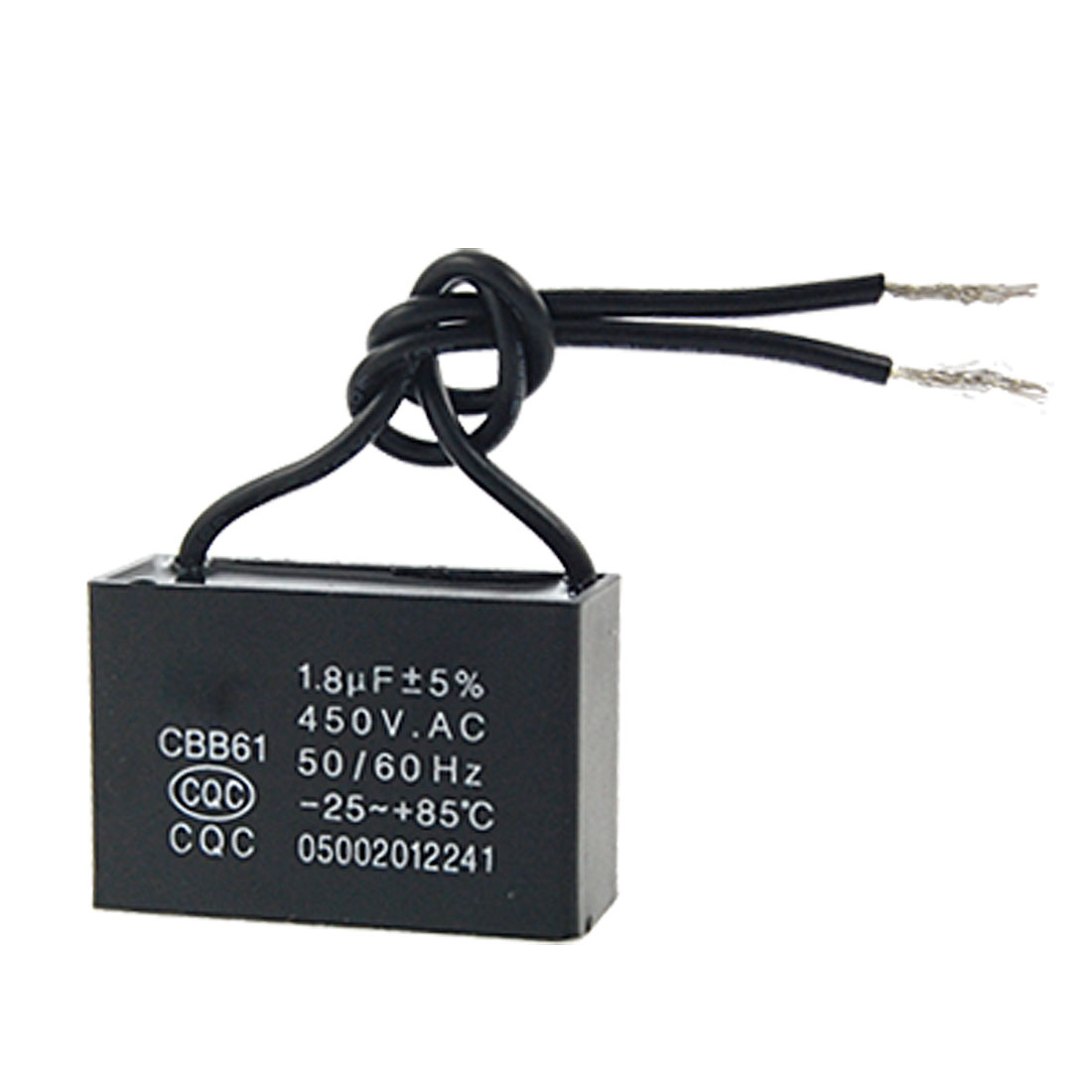 Unique Bargains Ceiling Fan Ehuaster 1 8uf Ac450v Motor Running Capacitor Cbb61 Com