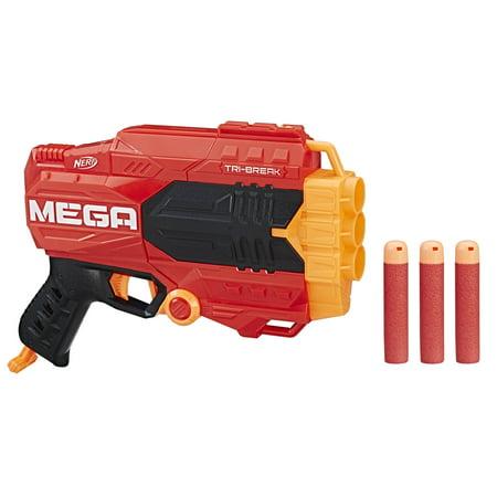 Nerf Gun Birthday Party Supplies (Nerf N-strike Mega Tri-break)