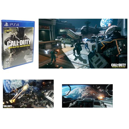 Call of Duty: Infinite Warfare  - PlayStation 4 (USA VERSION) With Termainal Zombie Map Shooter