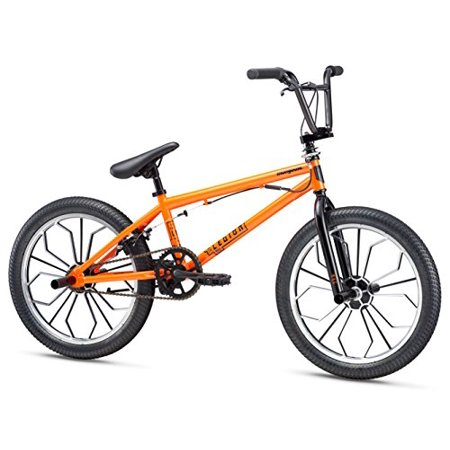 Mongoose Legion Mag Wheel 20u0022 Freestyle Bike - Orange