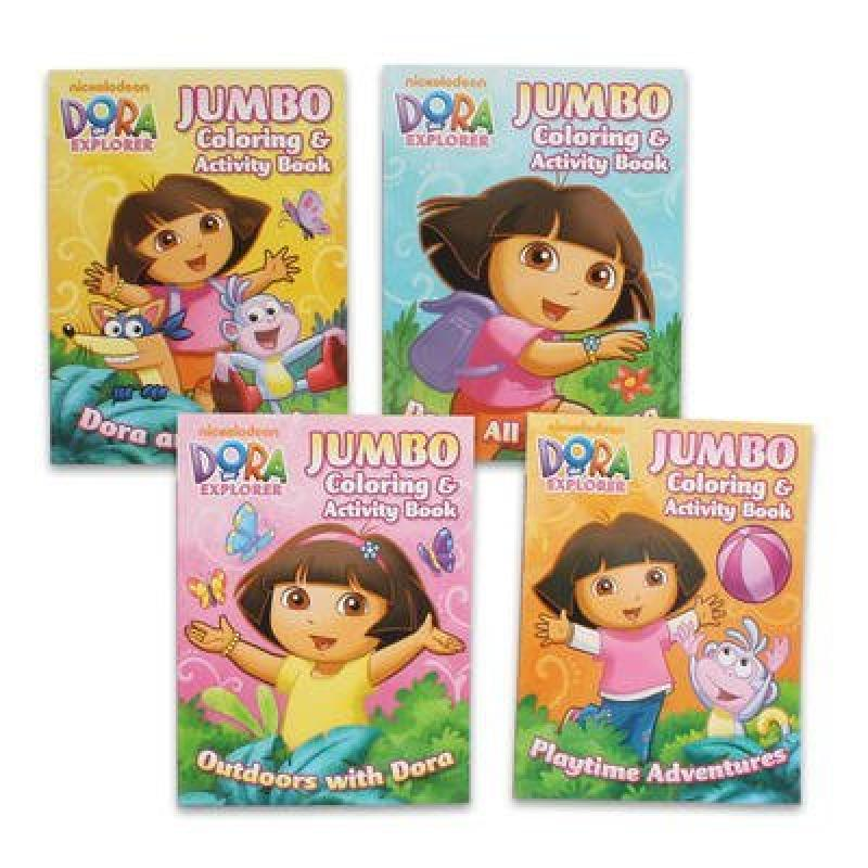 1 piece of Dora the Explorer 4 96p Coloring & Activity Book by