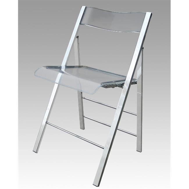 Nice Alston Quality 1530 Clear New Lucite Folding Chair Frame