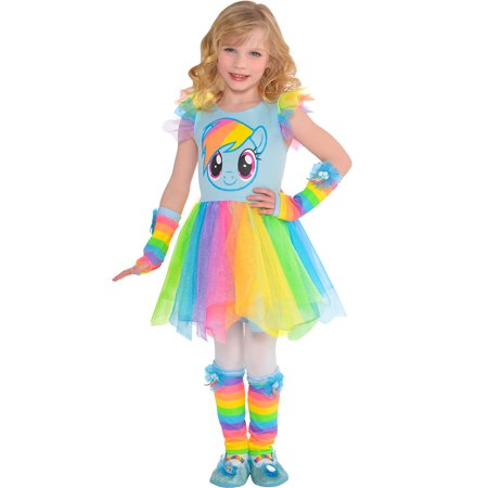 My Little Pony Rainbow Dash Tutu Dress for Children, One Size up to Size 6](Ghost Tutu Dress)