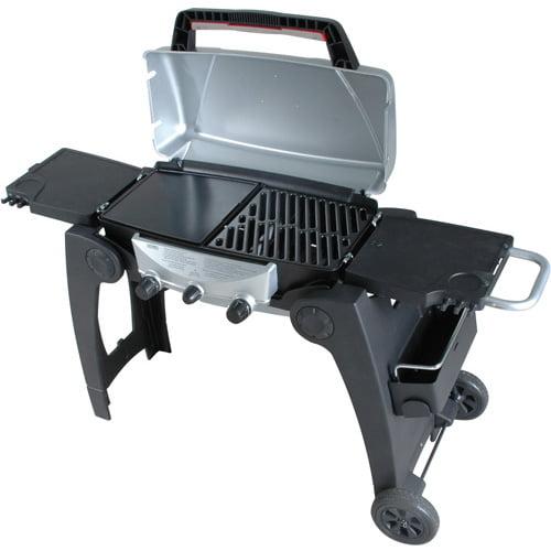 Grill2Go Advantage16,000 BTU  2-Burner  Gas Grill, Black and Silver