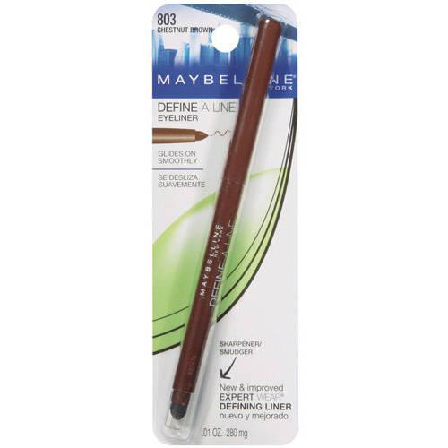 Maybelline New York Define - a - line Eyeliner, .01 Oz, Chestnut Brown