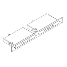 Kramer Electronics - RK-T2B - 19-Inch Rack Adapter for MegaTOOLS