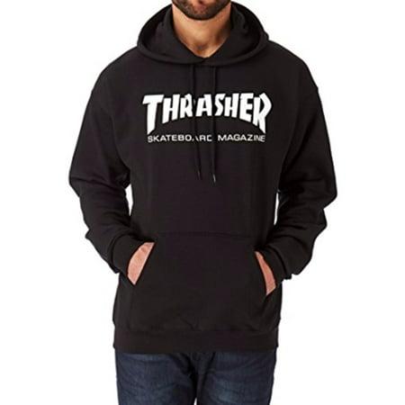 Halloween Hellride Thrasher (Thrasher Men's Skate Mag Hoodie 312671 Black, Grey,)