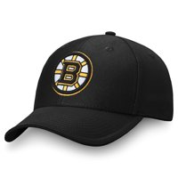Men's Fanatics Branded Black Boston Bruins Adjustable Hat - OSFA