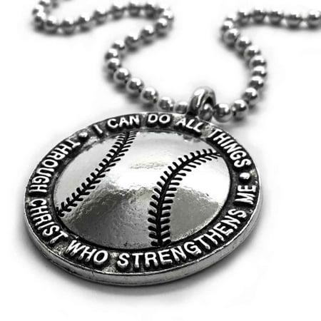 Baseball Necklace ()