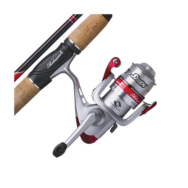 Shakespeare Catch More Fish Bass Spinning Reel and Fishing Rod