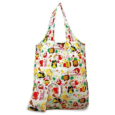 Hawaiian Tote (2 Foldable Reusable Hawaii Shopping Tote Bags Island Yumi)