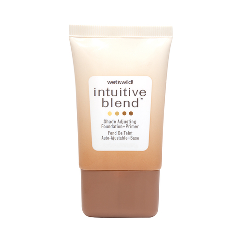 Wet n Wild Intuitive Blend Foundation + Primer, Shade Adjusting, Medium 177, 1 oz.