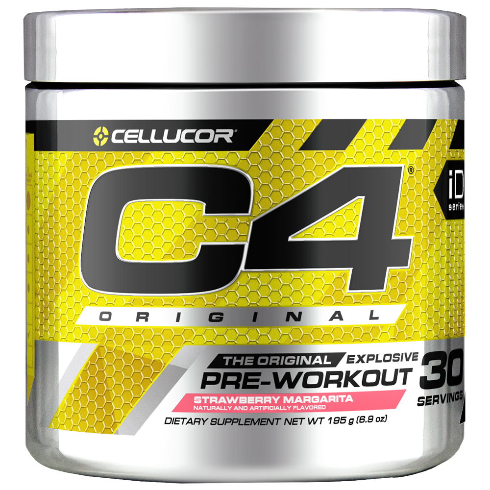 Cellucor C4 Original Pre Workout Powder, Strawberry Margarita, 30 Servings