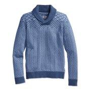 American Rag Mens Fair-Isle Shawl Sweater