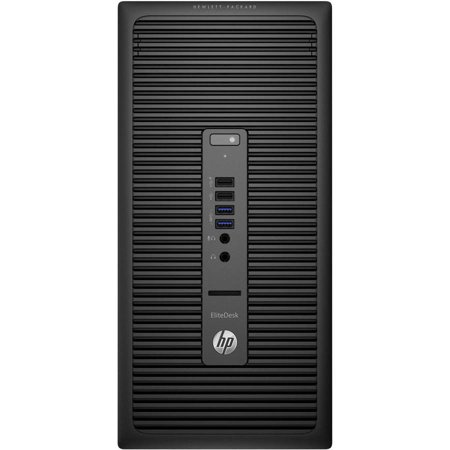 HP EliteDesk 705 G2 P0D54UT Microtower Desktop PC with AMD A4 PRO-8350B Processor, 4GB Memory, 500GB Hard Drive and Windows 7 Professional (Monitor Not Included)