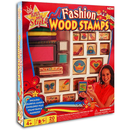 Just My Style Fashion Wood Stamps Kit