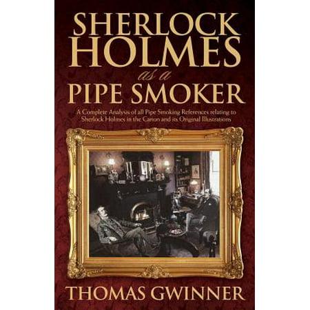 Sherlock Holmes as a Pipe Smoker